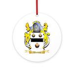 Wayman Round Ornament