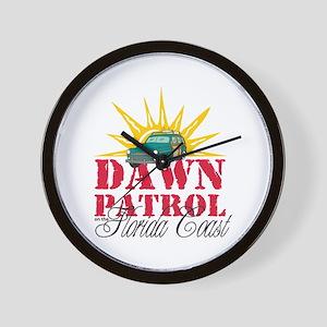 Dawn Patrol on the Florida Wall Clock