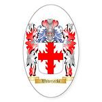 Wawrzecki Sticker (Oval 10 pk)