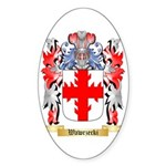 Wawrzecki Sticker (Oval 50 pk)