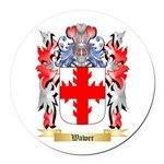 Wawer Round Car Magnet