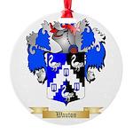 Wauton Round Ornament