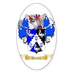 Wauton Sticker (Oval 50 pk)