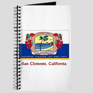San Clemente CA Flag Journal