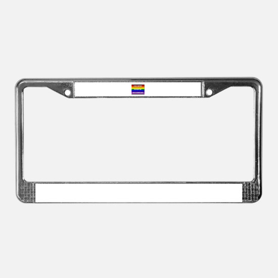 Unique Guns License Plate Frame