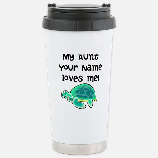 My Aunt Loves Me Turtle Mugs