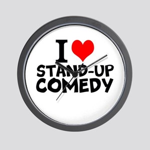I Love Stand-up Comedy Wall Clock