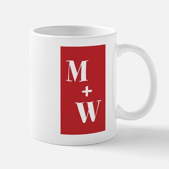 Monogram Plus Monogram Mugs