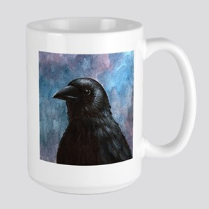 Bird 59 crow raven Stainless Steel Travel Mugs