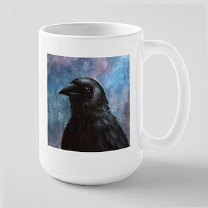 Bird 59 crow raven Stainless Steel Travel Mugs
