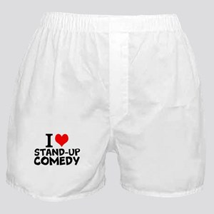I Love Stand-up Comedy Boxer Shorts