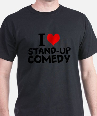 I Love Stand-up Comedy T-Shirt