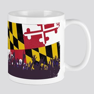 Maryland State Flag with Audience Mugs
