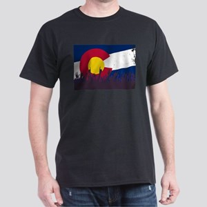 Colorado State Flag with Audience T-Shirt