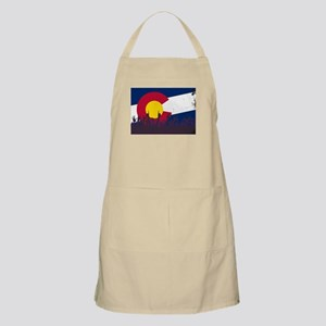 Colorado State Flag with Audience Apron
