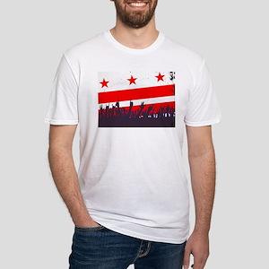 Washington DC Flag with Audience T-Shirt