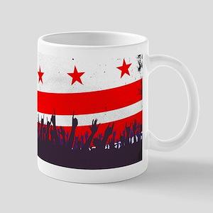 Washington DC Flag with Audience Mugs