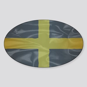 Silk Flag of Saint David Of Wales Sticker