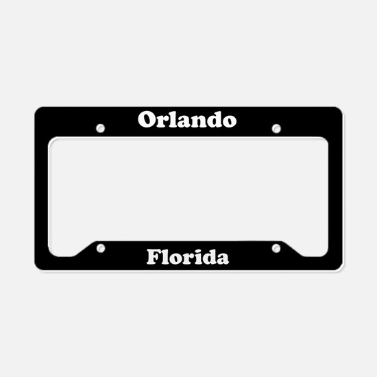 Orlando FL License Plate Holder