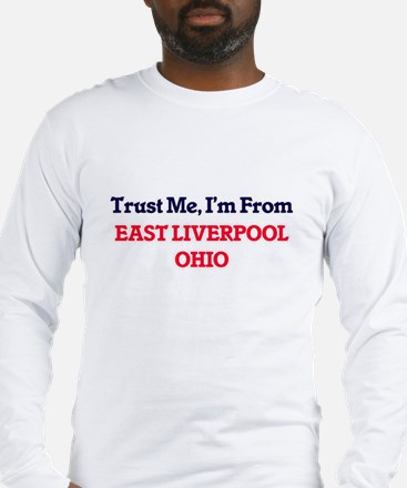 Trust Me, I'm from East Liverp Long Sleeve T-Shirt