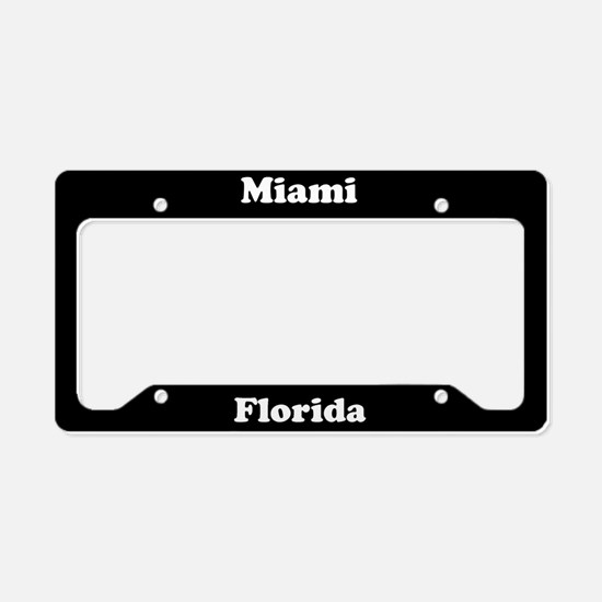 Miami FL License Plate Holder