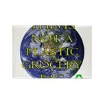 Not a Plastic Bag Rectangle Magnet (100 pack)