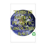 Not a Plastic Bag Mini Poster Print