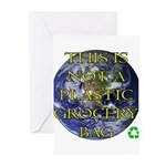 Not a Plastic Bag Greeting Cards (Pk of 20)