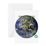 Not a Plastic Bag Greeting Card
