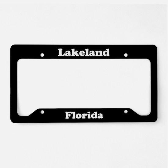 Lakeland FL License Plate Holder