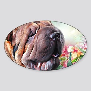 Shar Pei Painting Sticker