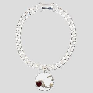 LockedInLove073110 Charm Bracelet, One Charm