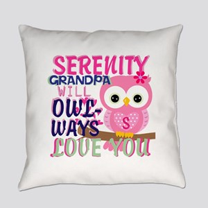 OWLWAYS LOVE YOU PERSONALIZE Everyday Pillow