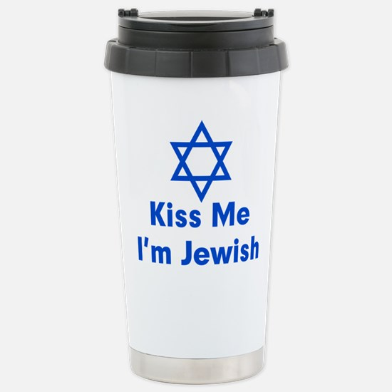 Kiss Me I'm Jewish Mugs