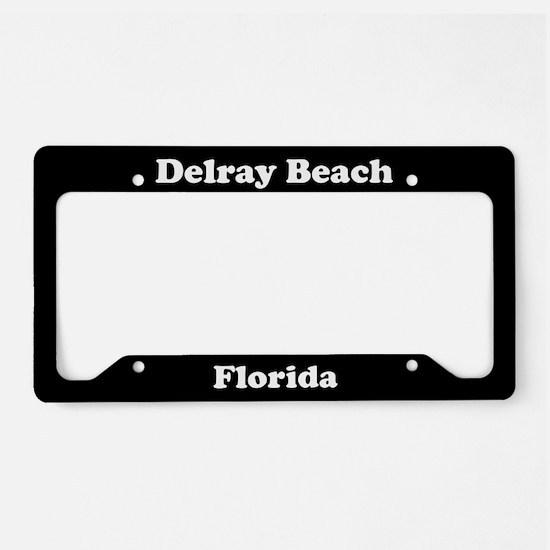 Delray Beach FL License Plate Holder