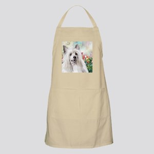 Chinese Crested Painting Apron