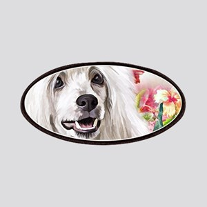 Chinese Crested Painting Patch