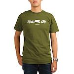 Snack Life Organic Men's Dark T-Shirt