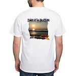Snack Life Sunrise White T-Shirt