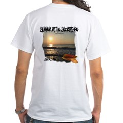 Snack Life Sunrise White T-Shirt