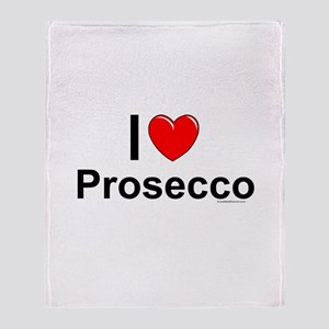 Prosecco Throw Blanket
