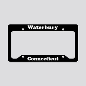 Waterbury CT License Plate Holder