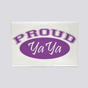 Proud YaYa (purple) Rectangle Magnet