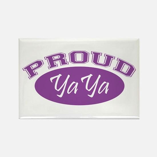 Proud YaYa (purple) Rectangle Magnet