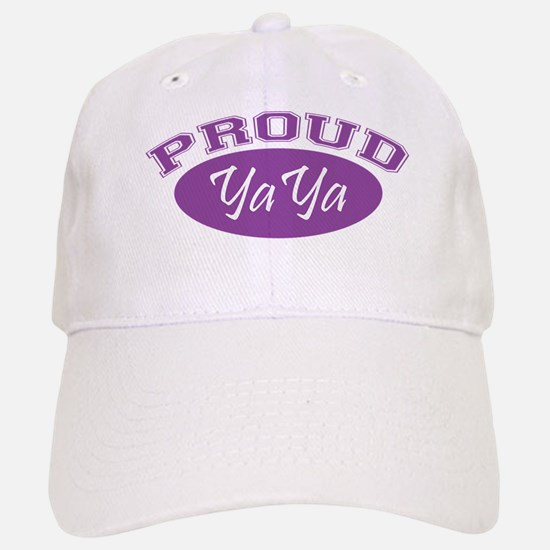 Proud YaYa (purple) Baseball Baseball Cap