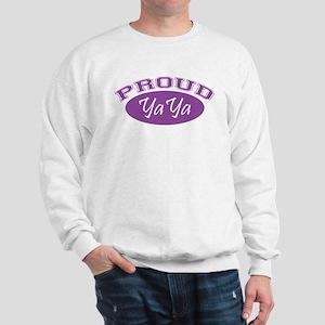 Proud YaYa (purple) Sweatshirt