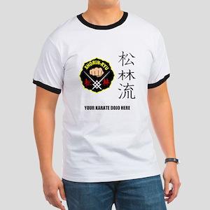 Personalized Shorin Ryu Patch & Kanji Ringer T