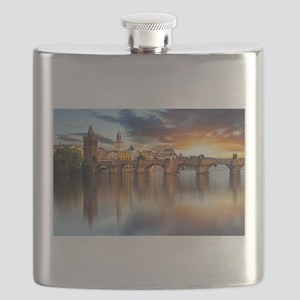 Charles Bridge Prague Flask