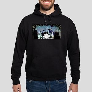 Bright Rock Band Stage Hoodie (dark)