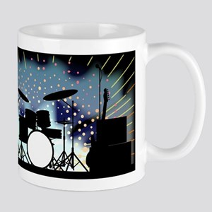 Bright Rock Band Stage Mugs